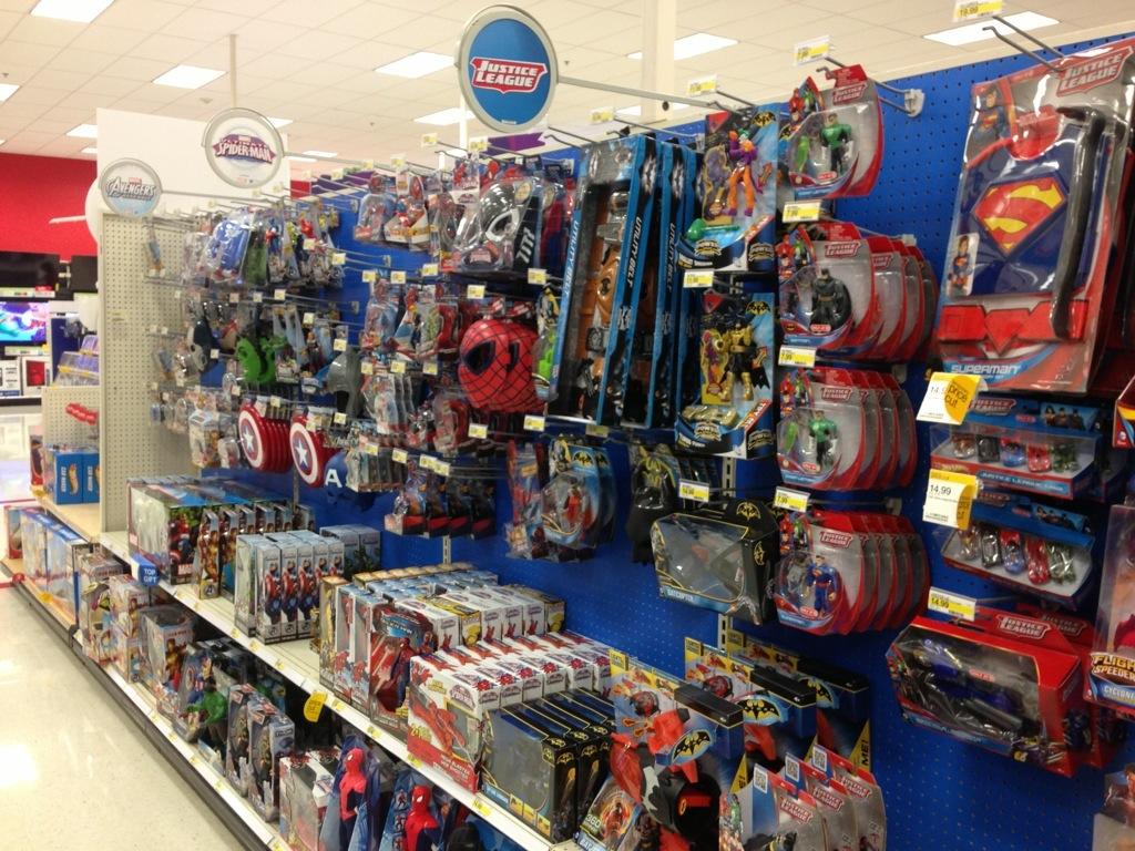 Cool Boy Toys At Target : Toy aisle pastorjfreeman